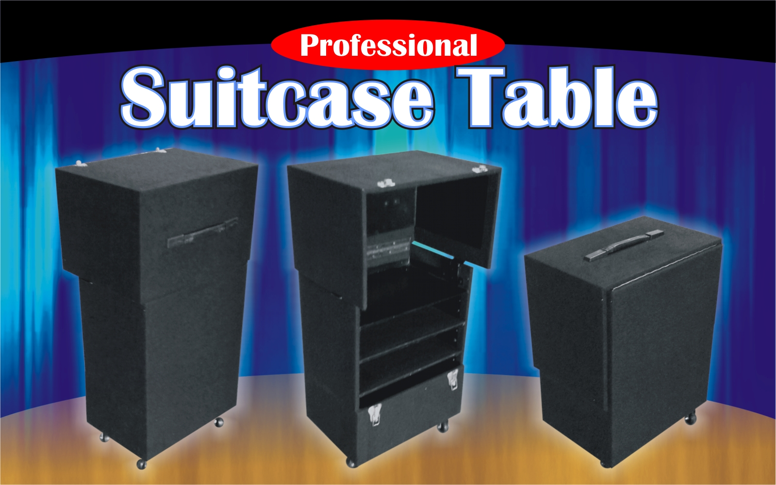 Suitcase Table - Pro